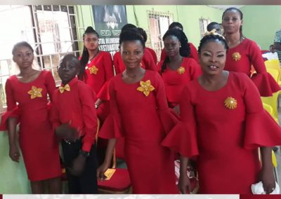 Church Choir Ministering