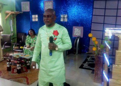 Bishop Elect Ministering