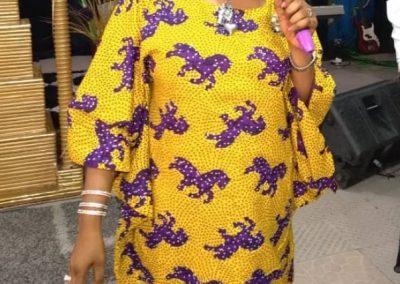 Rev Mrs Vivian Arutere Ministering