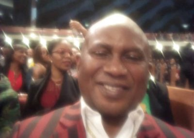 Bishop Elect Fred K. Arutere during T.D. Jakes ministration, Potter's House, Dallas TX.
