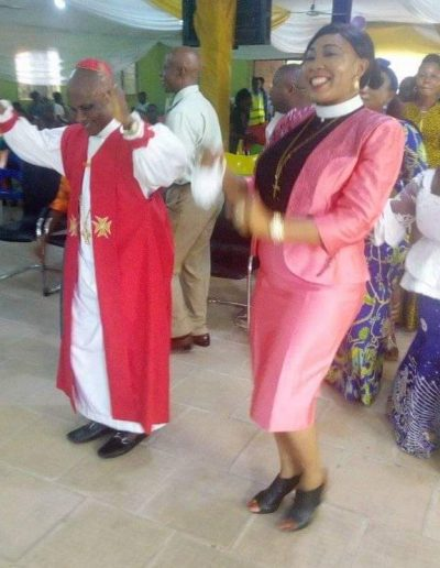 Consecration and Enthronement thanksgiving service