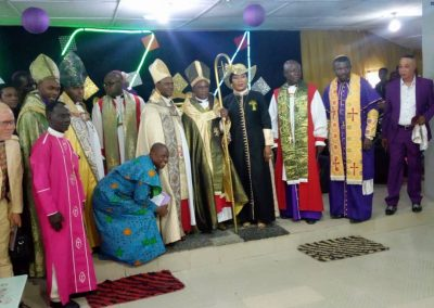 Group photographs of Bishops present during the Consecration and Enthronement of Bishop Elect  Fred ARUTERE as  Bishop.
